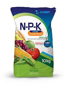 کود پودری N-P-K (15-5-30+TE)